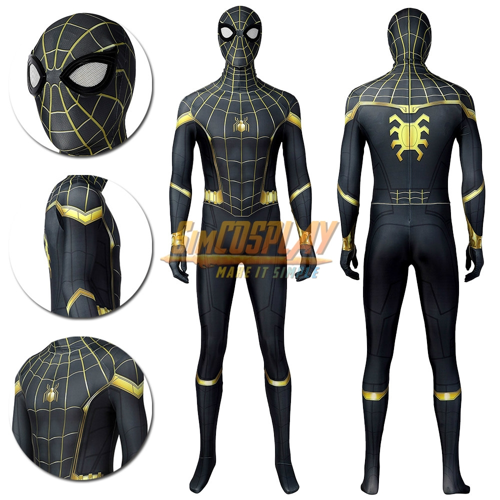 Spider-Man No Way Home Cosplay Costume Peter Parker New Suit