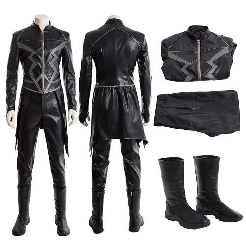 Inhumans Black Bolt Cosplay Costume Full Set
