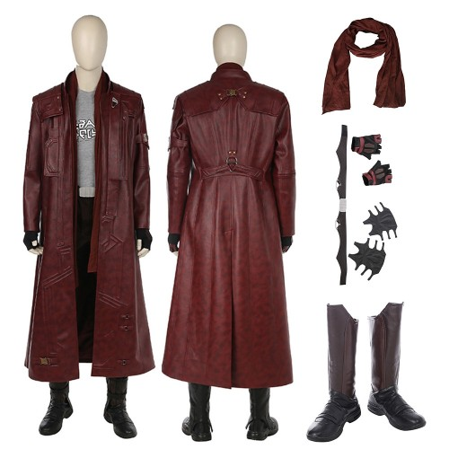 Star Lord Trench Coat Guardians Of The Galaxy 2 Cosplay Costume