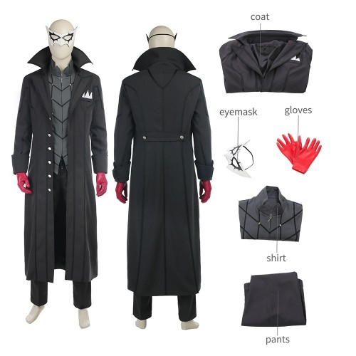 Persona 5 Kaitou Cosplay Costume Deluxe Version