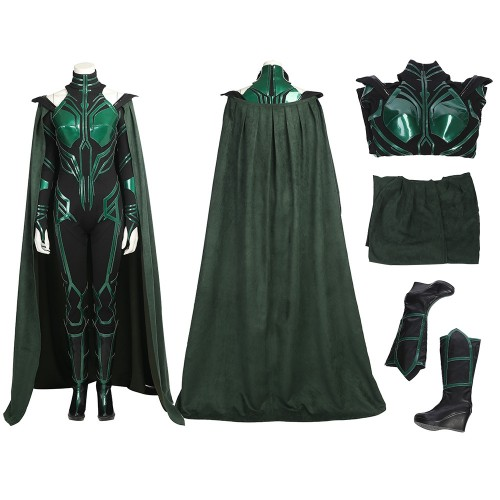 Thor Ragnarok Hela Outfits Cosplay Costume Deluxe Version
