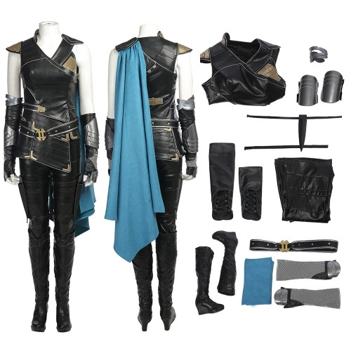Thor Ragnarok Valkyrie Outfits Cosplay Costume
