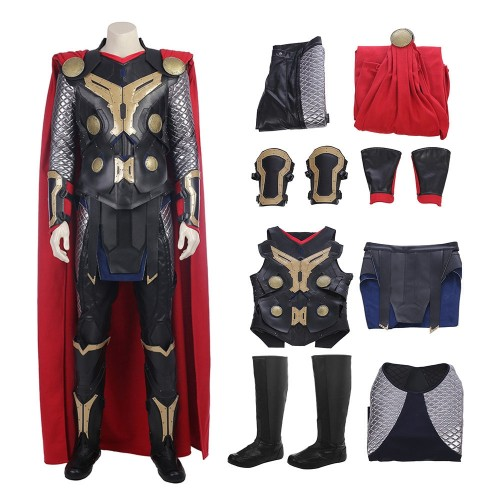 Thor The Dark World Thor Outfit Full Set Top Level