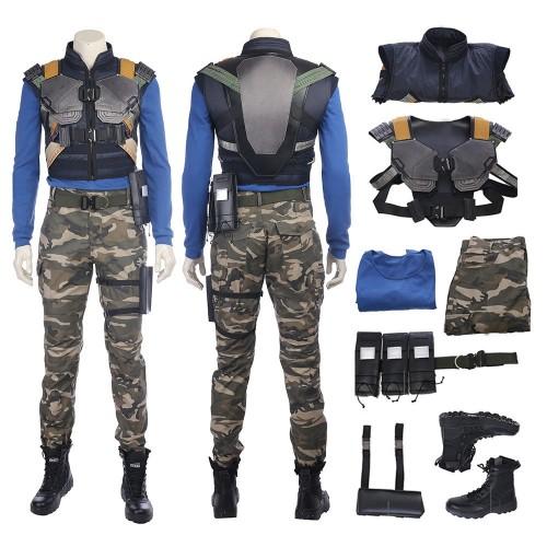 Black Panther Erik Killmonger Outfits Cosplay Costume