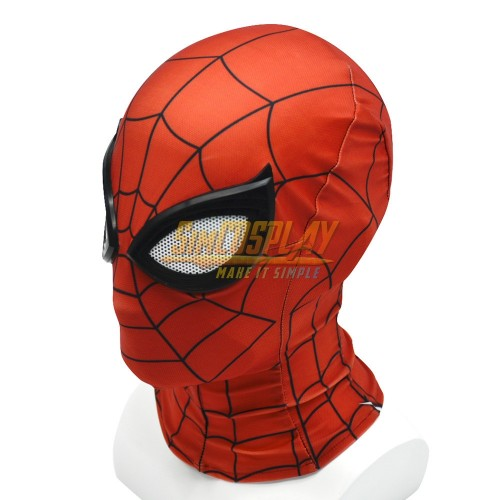 Spider-man Advanced Suit PS4 Spiderman Game Cosplay Mask With Half Face Shell