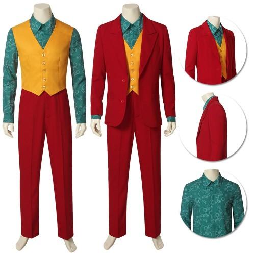 2019 Joker Origin Cosplay Costume Arthur Fleck Cosplay Outfits