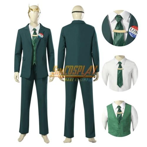 2021 Loki TV series Cosplay Costume Loki Dress Up Suit Ver.2