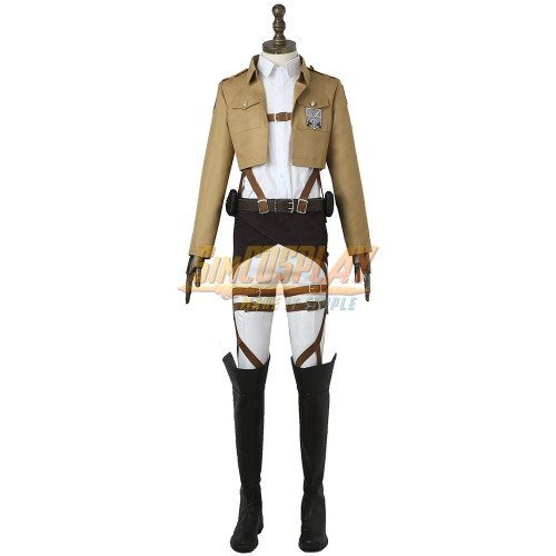 Attack On Titan The Survey Corps Uniform Attack On Titan Basic Cosplay Costume