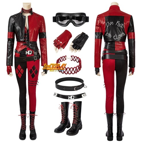 Harley Quinn Cosplay Costumes 2021 The Suicide Squad 2 New Harley Quinn Cosplay Suit
