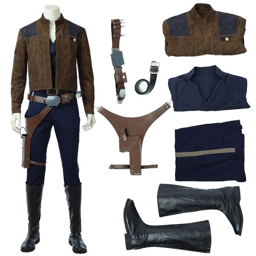 Solo: A Star Wars Story 2018 Han Solo Cosplay Costume Top Level