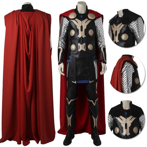 Age of Ultron Thor Cosplay Costume Top Level
