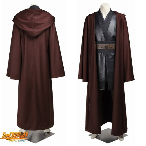 Anakin Skywalker Classic Costume Star Wars Classic Cosplay Suit