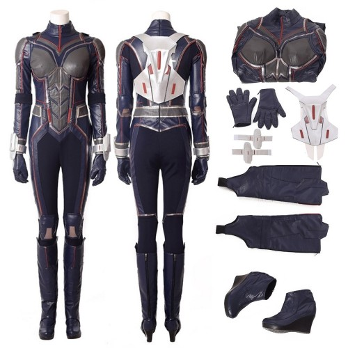 Ant-Man and the Wasp Hope van Dyne Cosplay Costume Top Level