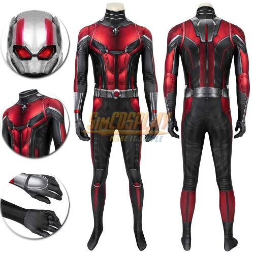 Ant-Man Cosplay Suit The Classic Ant Man Scott Cosplay Costume Printed Edition