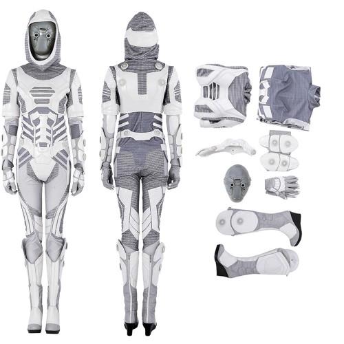 Ant-Man 2 Ghost John Morley Cosplay Costume