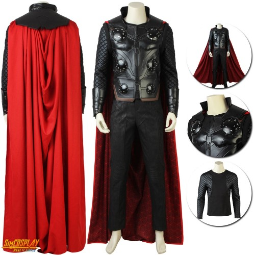 Avengers Thor Cosplay Costume Endgame Thor Odinson Suit Sac194107
