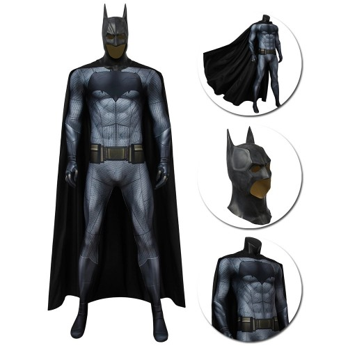 Batman Costume Batman vs Superman Dawn of Justice 3D Printed Jumpsuit