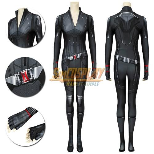 Black Widow Cosplay Costumes 3D Printed Creative Spandex Suit