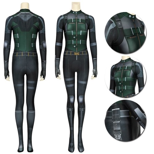 Black Widow Cosplay Suit The Classic Black Widow 3D Printing Spandex Costume