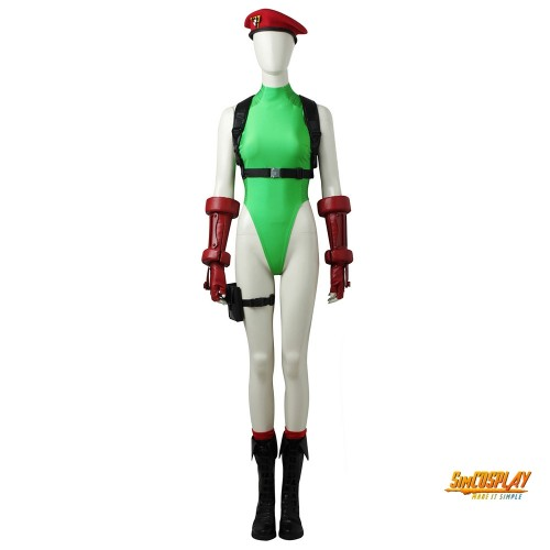 Cammy White Cosplay Costume Street Fighter Cosplay Outfits