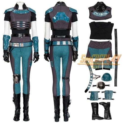 Cara Dune Cosplay Costume Star Wars The Mandalorian Cara Cosplay Armor For Female