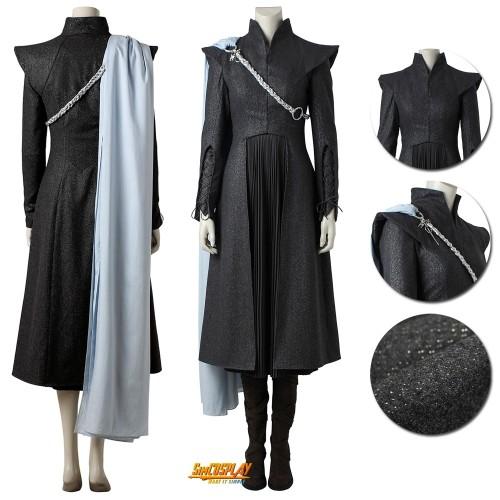 Daenerys Targaryen Costume Game of Thrones S7 Cosplay Suits