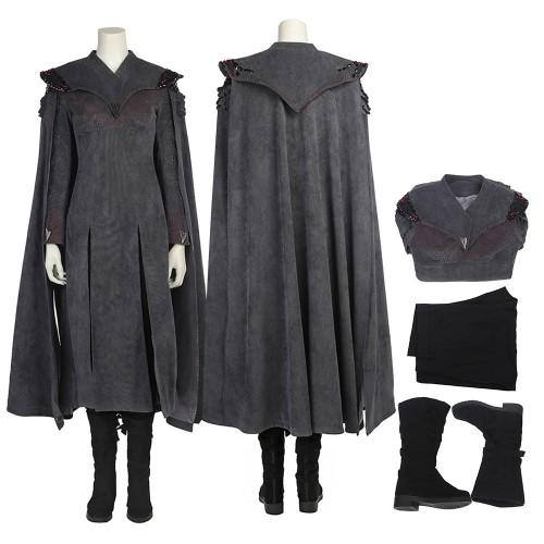Daenerys Targaryen Mother of Dragons Cosplay Costume Game Of Thrones Season 7 Costumes