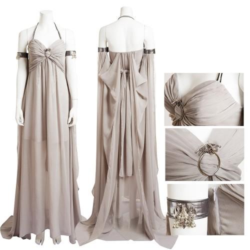 Daenerys Targaryen Qarth Dress Mother of Dragons Cosplay Costume Game Of Thrones Costumes