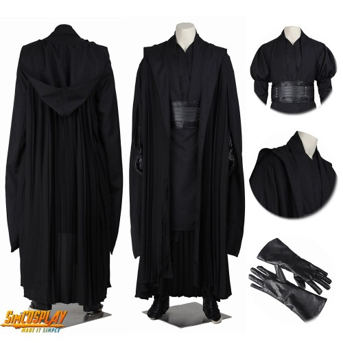 Darth Maul Costume Sith Lord Classic Cosplay Suit Top Level