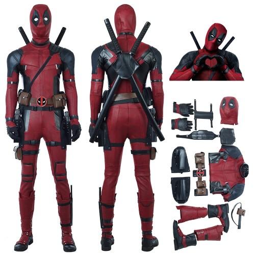 Deadpool 2 Wade Wilson Cosplay Costume Top Level