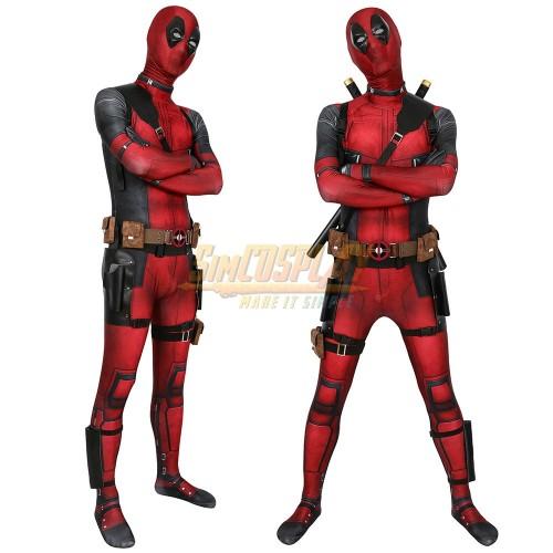 Deadpool Cosplay Costumes Spandex 3D Printed Deadpool Cosplay Suit