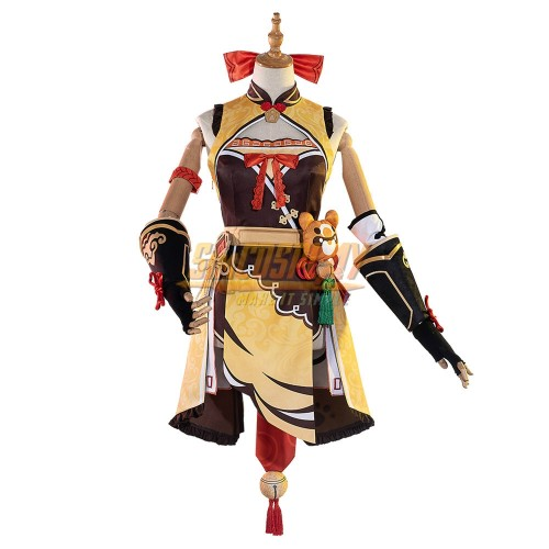 Genshin Impact Xiangling Cosplay Costume Promotion Edition