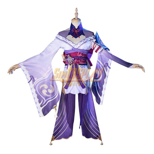 Genshin Impact Baal Cosplay Costumes Custom Size Supported