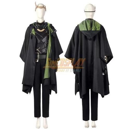 Female Loki Cosplay Costumes Loki Variant Suit Ver.2