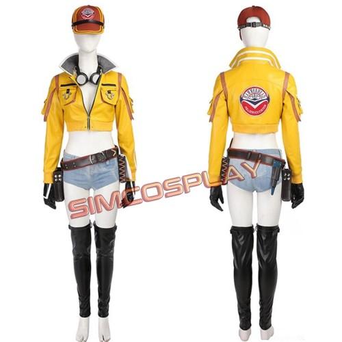 FFXV Cindy Aurum Cosplay Costume Final Fantasy Cosplay Costume