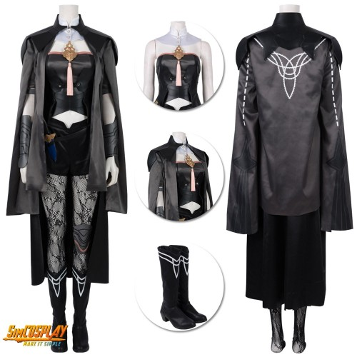 Fire Emblem Three Houses Byleth Female Cosplay Costume Top Level