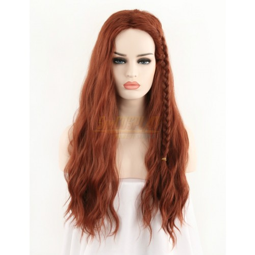 Black Widow 2021 Cosplay Wigs Natasha Romanoff Cosplay Wigs
