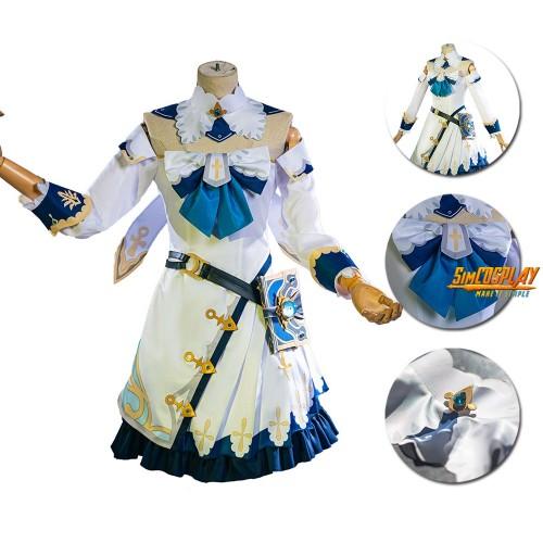 Genshin Impact Barbara Cosplay Costume Genshin Magic Girl Cosplay Suit
