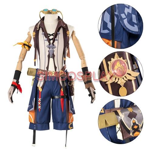 Genshin Impact Bennett Cosplay Costume Custom Size Supported