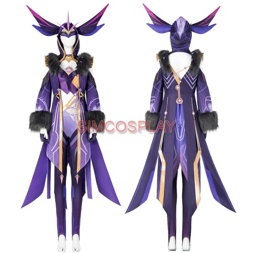 Genshin Impact Cicin Mage Cosplay Costumes Top Level