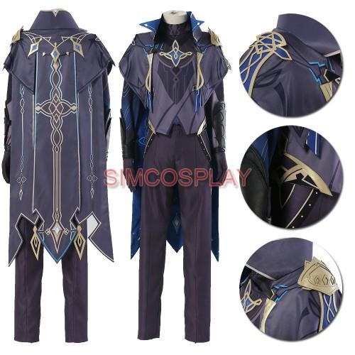 Genshin Impact Dainsleif Cosplay Costumes Top Level