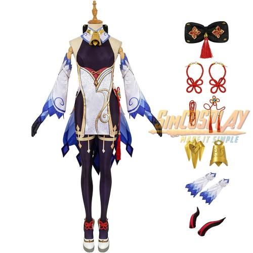 Genshin Impact Ganyu Cosplay Costume Top Level