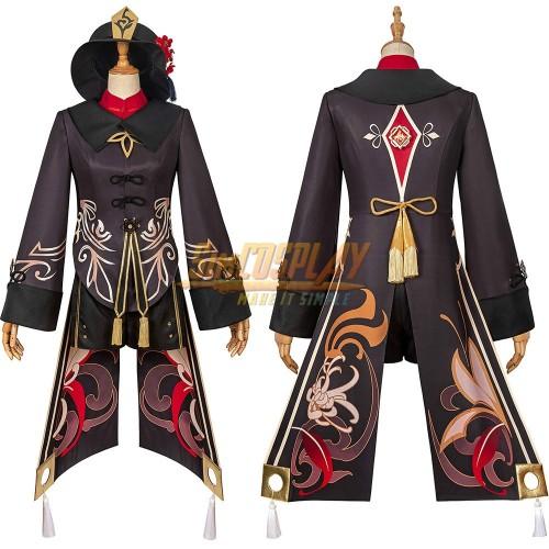 Genshin Impact Hu Tao Cosplay Costume Suit Top Level