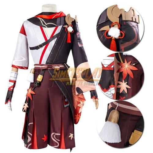 Genshin Impact Kazuha Cosplay Costume SimCosplay