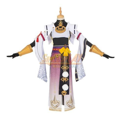 Genshin Impact Kujou Sara Cosplay Costumes Custom Size Supported