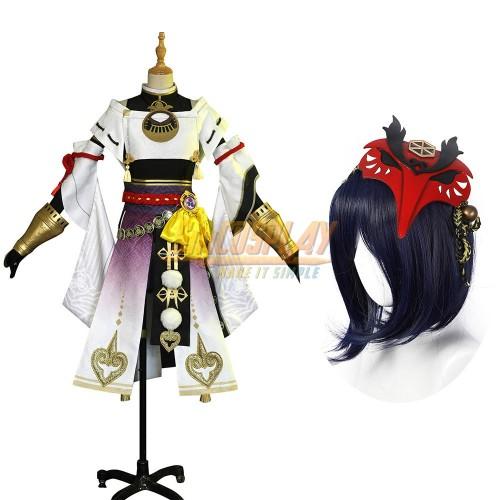 Genshin Impact Kujou Sara Cosplay Costumes SimCosplay
