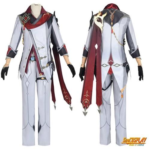 Genshin Impact Tartaglia Cosplay Costume Male Genshin Cosplay Suit