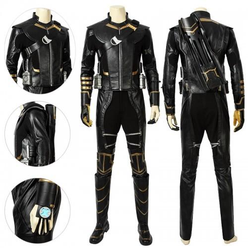 Hawkeye Cosplay Costume Endgame Clinton Barton Suits Ver.2