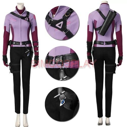 Hawkeye Kate Bishop Cosplay Costumes Slim Edition