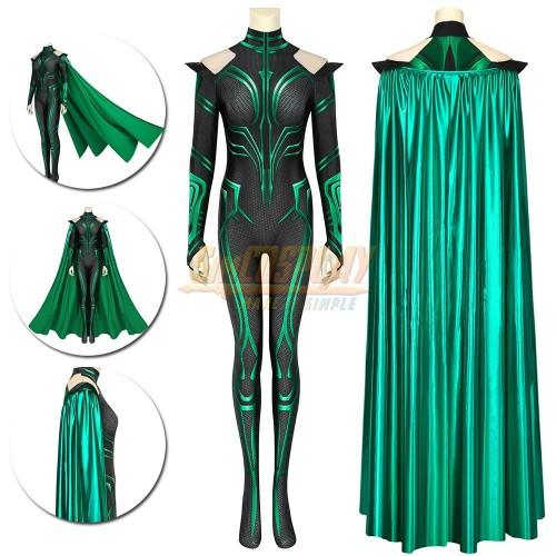 Hela Cosplay Costume Thor Ragnarok Hela Cosplay Suit HQ Printed Edition